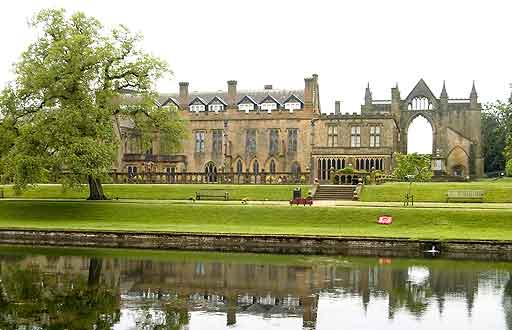 Newstead Abbey Historic House Gardens Nottinghamshire