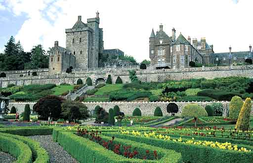 Drummond Castle -- Scotland
